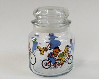 Sesame Street / Muppets Inc. Glass Candy Storage Jar