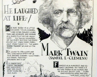 a biography of mark twain Mark twain by ron powers - ron powers's tour de force has been widely  acclaimed as the best life and times, filled with mark twain's voice, and as a great.