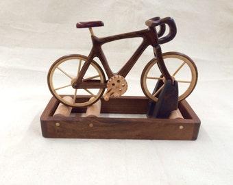 Wood Training Rollers Bike Bicycle Wood