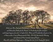 Isaiah 61:1-3 Art Print