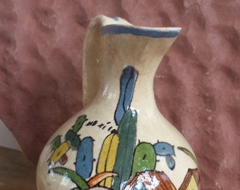 Vintage Mexican Pottery Pitcher or Creamer