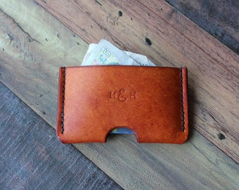 Slim Leather Card Wallet, Leather Card Holder, Credit Card Wallet, Minimalist Wallet, Business Card Holder, Gifts For Him