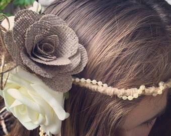 Flower girl halo/Bridesmaid Halo