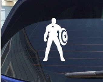 Avengers Captain America Decal