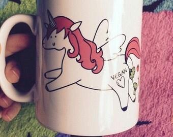 Vegan Unicorn mug