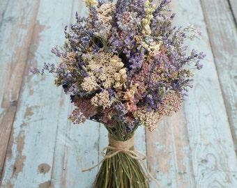 Midnight Haze Dried Flower Bouquet