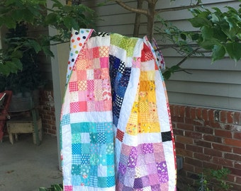 Checkerboard Square Quilt