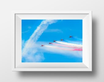 The Red Five / Red Arrows / RAF / Hawk / Airshow / Aircraft