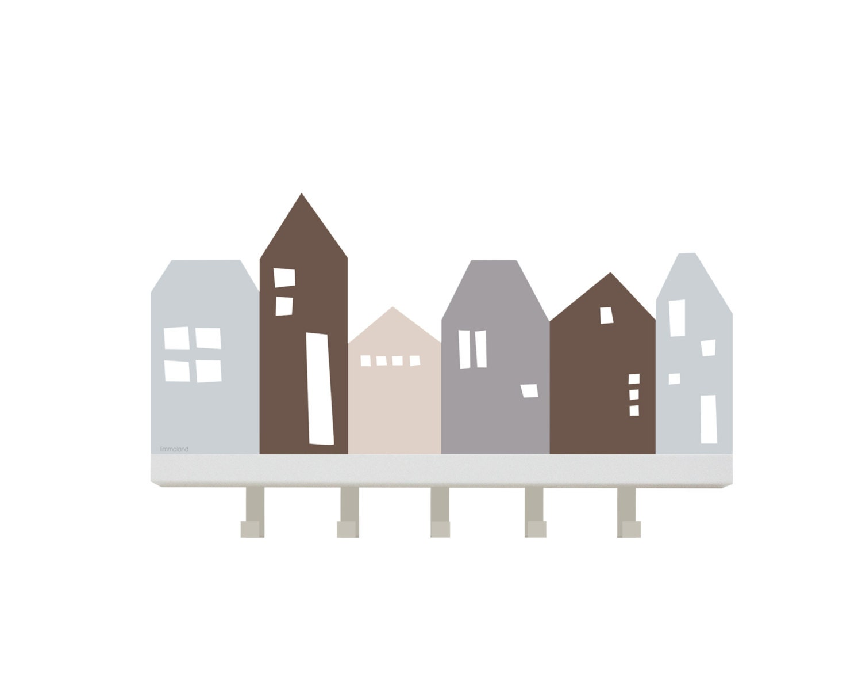 wanddekoration lille hus h user sticker f r ikea tjusig. Black Bedroom Furniture Sets. Home Design Ideas