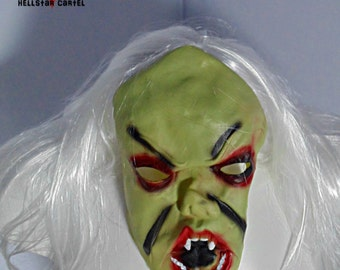 demonic horror halloween mask