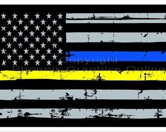 Police Dispatcher Etsy
