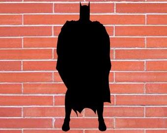 Batman. Superhero. Silhouette Clipart. Set Digital illustration. Scrapbook
