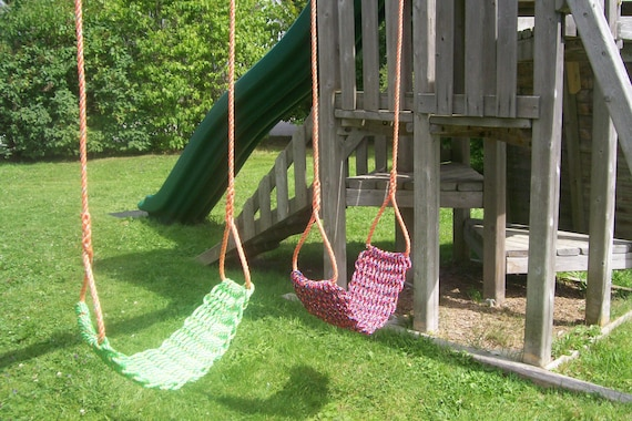Handmade swings free shipping uniquewaterproof and by for Unique swings for kids