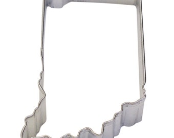 """Indiana 3.5"""" Cookie Cutter - USA United States of America"""