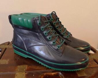 SPORTO Vintage Rubber Boots / Size 10