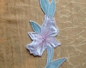 Vintage Pink Flower Patch Embroidery Patch Appliqué Pink Flower