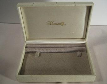 Vintage Krementz Hand Crafted Jewelry Box Sweden