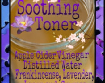 Skin Toner; Organic