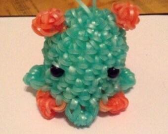 Mini Octopus Rainbow Loom Figurine
