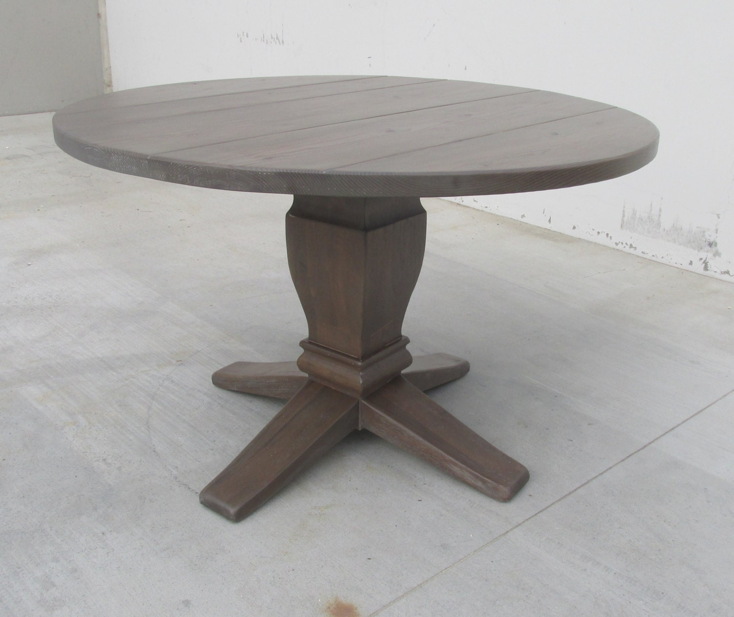 Reclaimed Wood Round Table: Table Round Dining Table Reclaimed Wood Kitchen Table