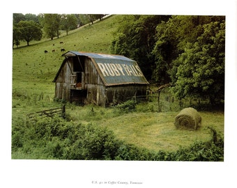 US 41 in Coffee County, Tennessee from the book Rock City Barns