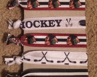 Chicago Blackhawks Hair Ties
