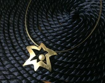 Hanging star.