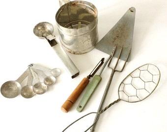 Primitive Kitchen Tools
