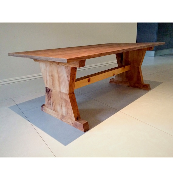 Alder And Walnut Coffee Table By Fifteendegree On Etsy