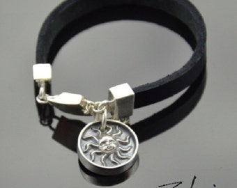 Bracelet Day and Night Silver