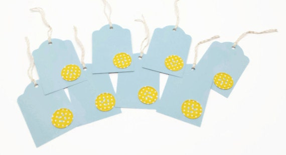 Button Gift Tags, Baby Gift Tags, Shower Gift Tag, Baby Shower ...