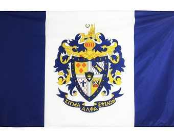Sigma Alpha Epsilon Flag - 3' X 5' Officially Approved