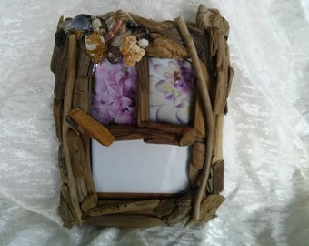 natural driftwood picture frame