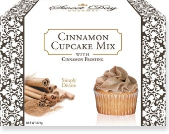 Gourmet Baking Mix - Cinnamon Cupcakes w/Cinnamon Frosting