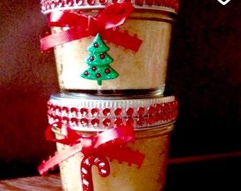 Christmas Gifts for Coworkers, Organic Hand and Body Sugar Scrub, Body Scrub, Spa Gift Set, Bath and Body Gift Set, Christmas Bath and Body