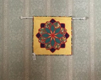 Stain Glass Wall Hanging