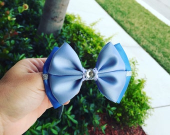 Cinderella hair bow inspired
