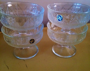 Vintage Barware by Hoya Corporation, Midcentury glasswares. Made in Japan.