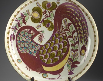 Royal Copenhagen - TENERA - Berte Jessen - Fruit Bowl with bird