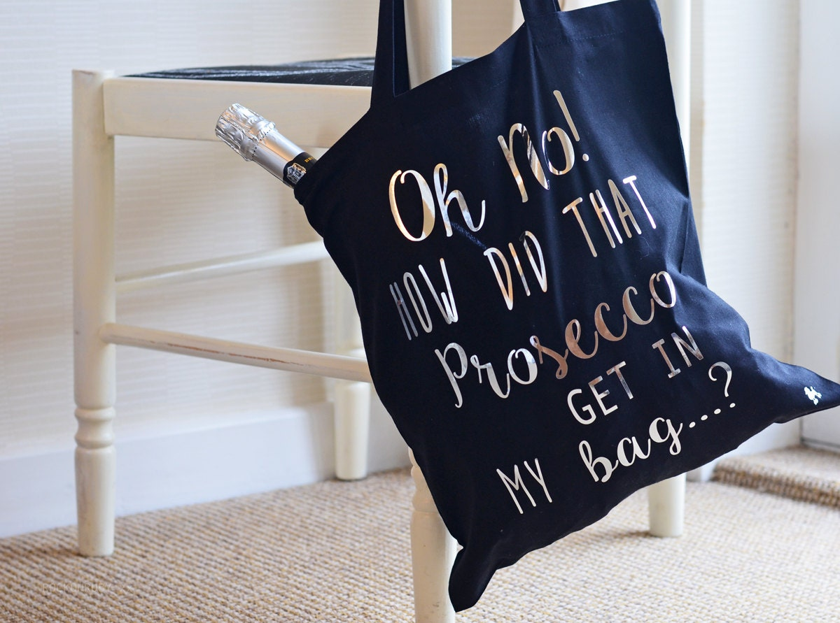 Prosecco In My Tote Bag Shopping Bag For Life Canvas
