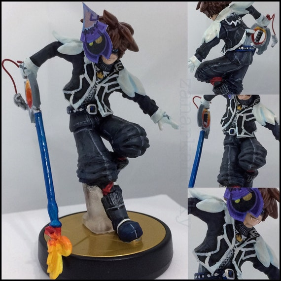 Custom amiibo - Kingdom Hearts Halloween Town Sora
