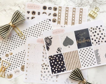 Happy Planner Classic Kate Weekly Sticker Kit