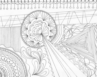 Printable Coloring Page