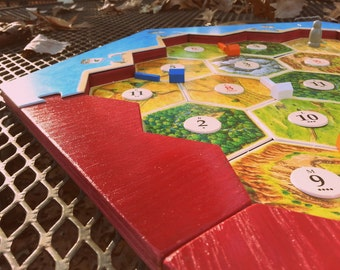 Catan Game Border-magnetic, handmade, high-quality, customizable