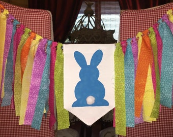 Bunny Bunting/Easter Bunting/Bunny Garland/Easter Garland/Easter Decor/Easter/Bunny/Easter Mantel
