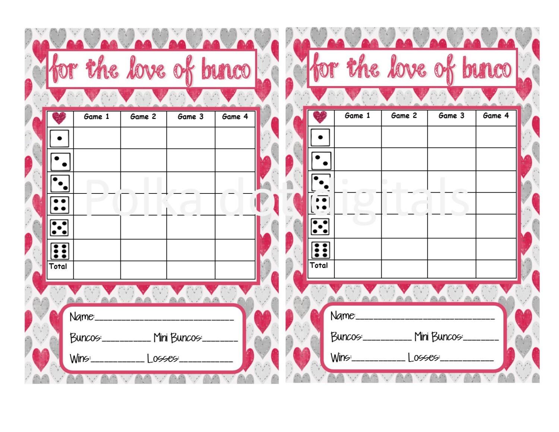 Buy 2 Get 1 Free Love Of Bunco Valentine S Complete Set