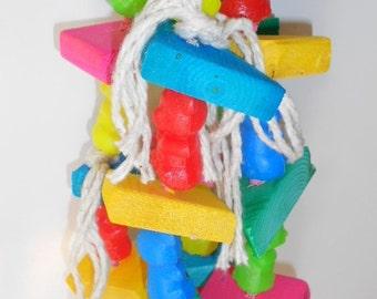 Preen Me Bear, Bird Toy, Preening Toy