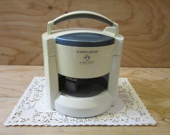 Vintage Black & Decker Lids Off Automatic Jar Opener JW200