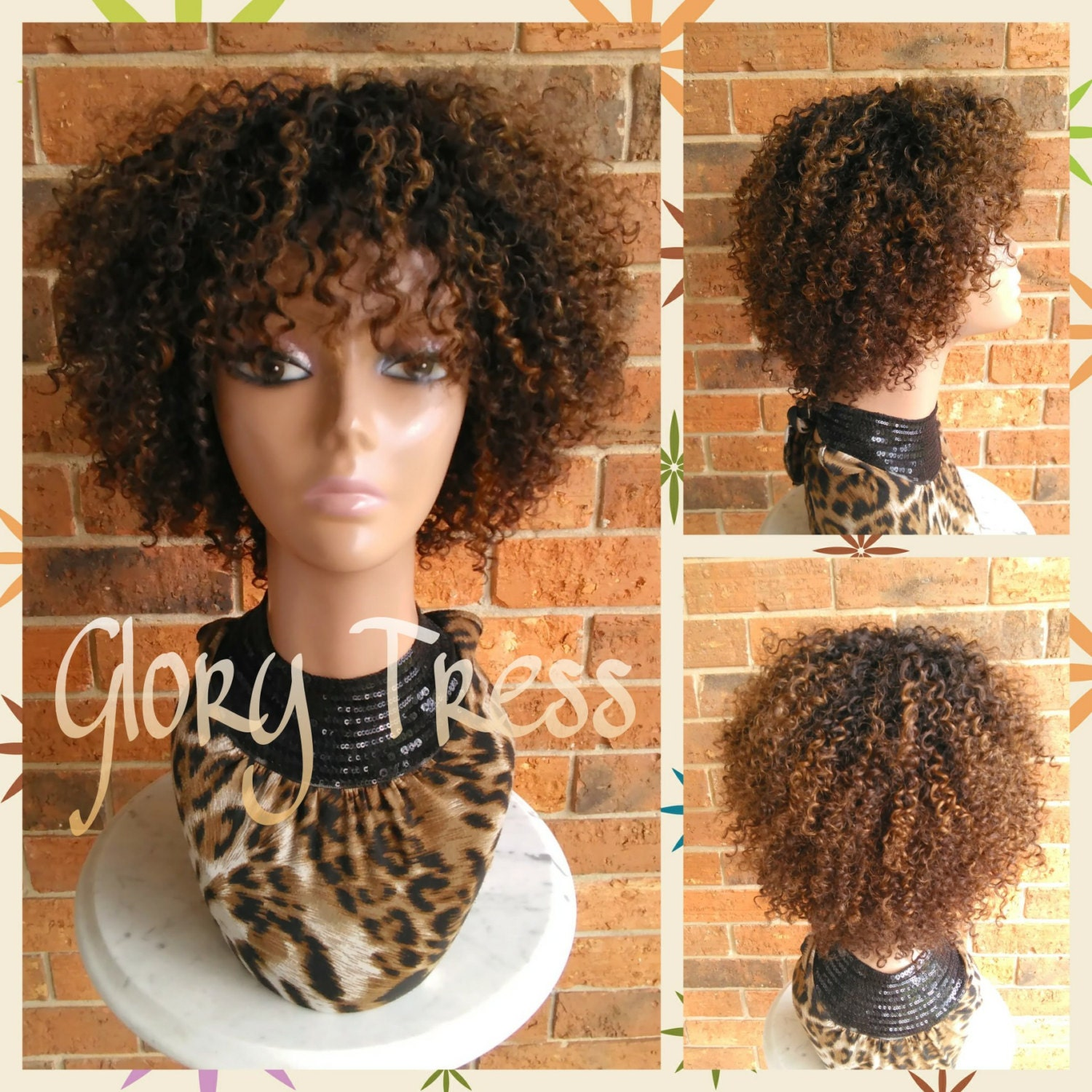 On Sale Kinky Curly Lace Front Wig 100 Remy Human Hair