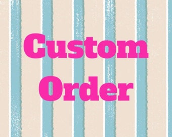 Custom Half Days